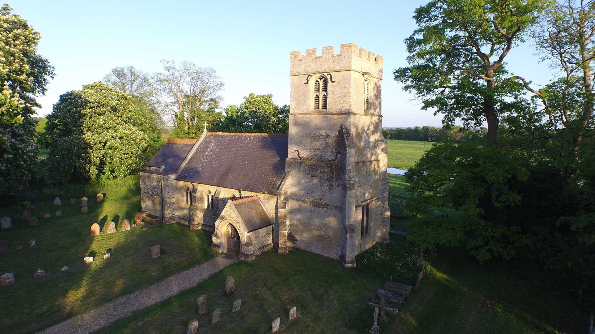 St James's Tyringham Church