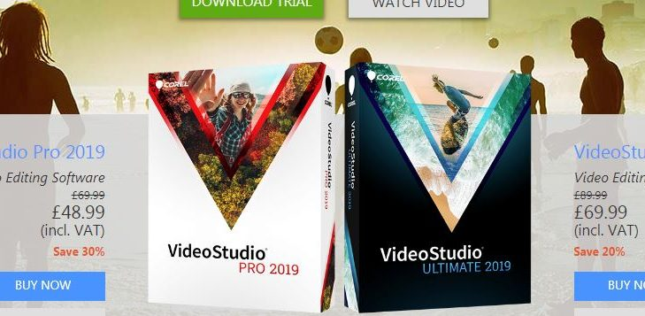Corel Videostudio Pro 2019 For Editing on a PC
